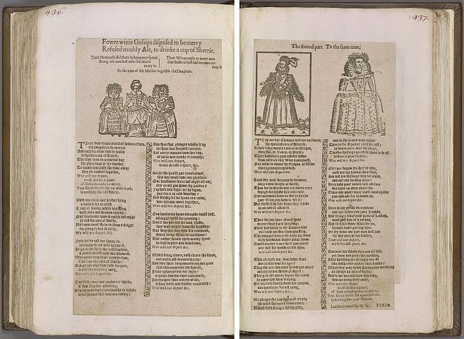 Preview of Magdalene College - Pepys 1.436-437 Image PepysC_album_1_436-437_2448x2448.jpg
