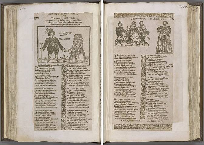 Preview of Magdalene College - Pepys 1.204-205 Image PepysC_album_1_204-205_2448x2448.jpg