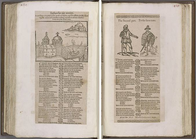 Preview of Magdalene College - Pepys 1.420-421 Image PepysC_album_1_420-421_2448x2448.jpg