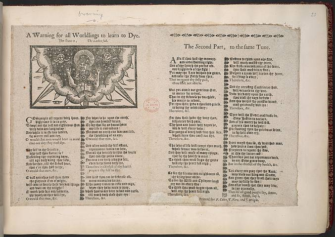 Preview of British Library - Collection of 225 Ballads 23.) Image BL_album_C22f6_023_2448x2448.jpg