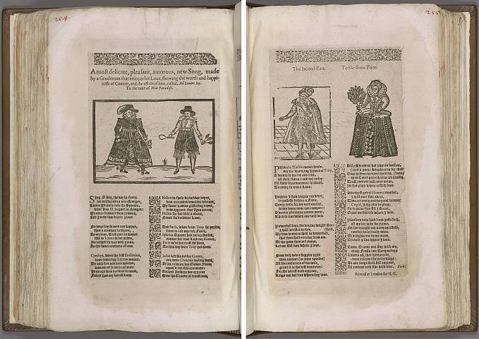 Preview of Magdalene College - Pepys 1.254-255 Image PepysC_album_1_254-255_2448x2448.jpg