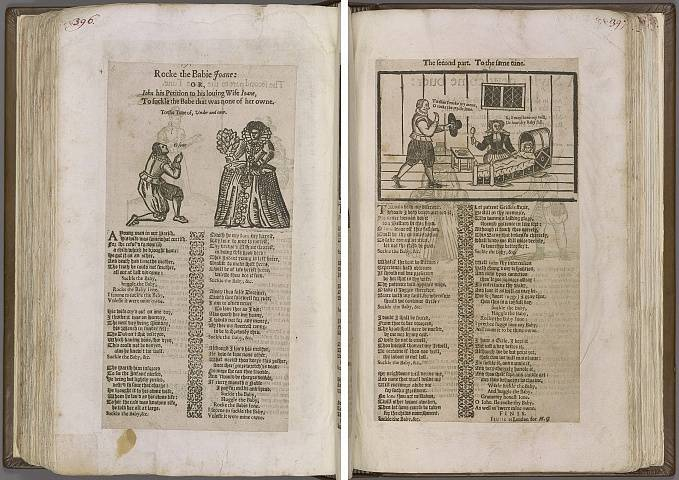 Preview of Magdalene College - Pepys 1.396-397r Image PepysC_album_1_396-397r_2448x2448.jpg