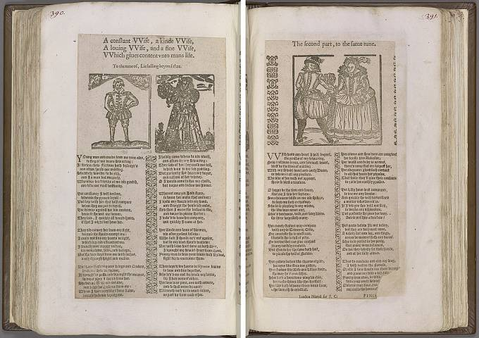 Preview of Magdalene College - Pepys 1.390-391 Image PepysC_album_1_390-391_2448x2448.jpg