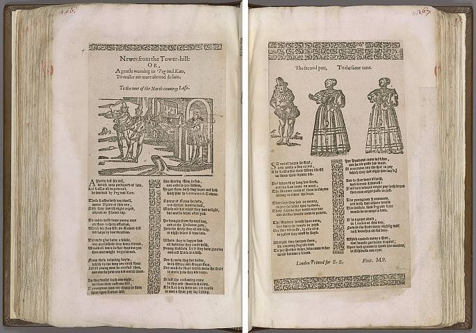 Preview of Magdalene College - Pepys 1.266-267 Image PepysC_album_1_266-267_2448x2448.jpg