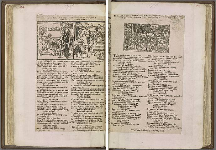 Preview of Magdalene College - Pepys 2.84-85 Image PepysC_album_2_084-085_2448x2448.jpg