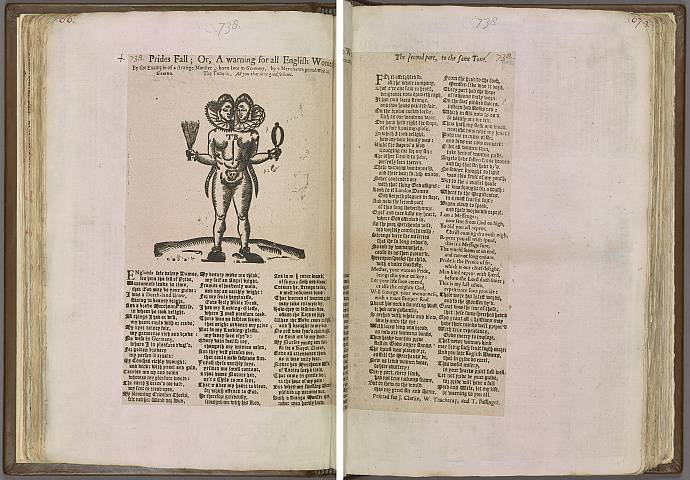 Preview of Magdalene College - Pepys 2.66-67 Image PepysC_album_2_066-067_2448x2448.jpg