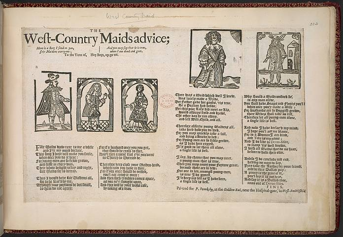 Preview of British Library - Collection of 225 Ballads 224.) Image BL_album_C22f6_224_2448x2448.jpg