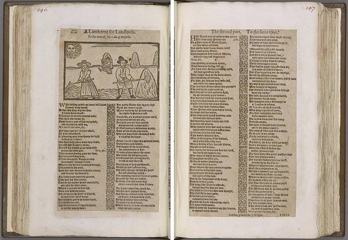 Preview of Magdalene College - Pepys 1.146-147 Image PepysC_album_1_146-147_2448x2448.jpg