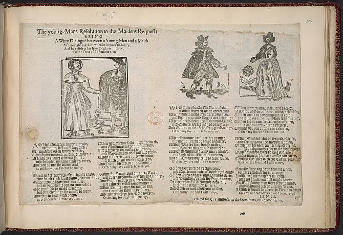 Preview of British Library - Collection of 225 Ballads 214.) Image BL_album_C22f6_214_2448x2448.jpg