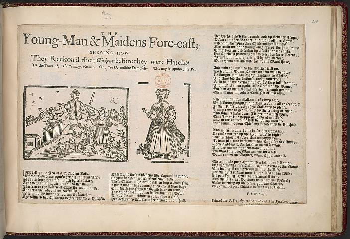 Preview of British Library - Collection of 225 Ballads 210.) Image BL_album_C22f6_210_2448x2448.jpg