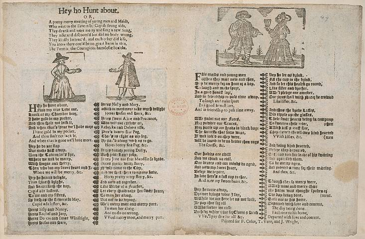 Preview of British Library - Collection of 225 Ballads 50.) Image BL_C22f6_050_2448x2448.jpg