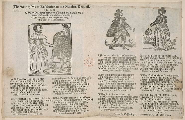 Preview of British Library - Collection of 225 Ballads 214.) Image BL_C22f6_214_2448x2448.jpg